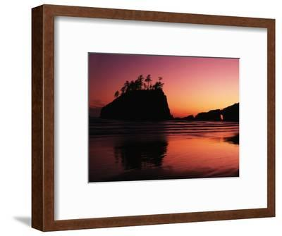 View of Second Beach, Olympic National Park, Washington State, USA-Stuart Westmorland-Framed Photographic Print