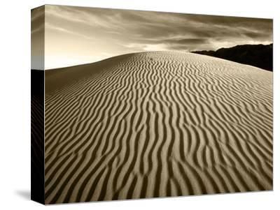 Mojave Desert Sand Dunes, Death Valley National Park, California, USA-Adam Jones-Stretched Canvas Print