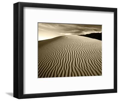 Mojave Desert Sand Dunes, Death Valley National Park, California, USA-Adam Jones-Framed Photographic Print