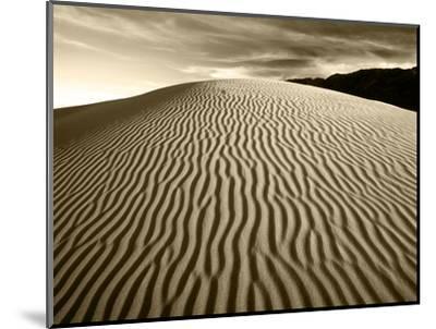 Mojave Desert Sand Dunes, Death Valley National Park, California, USA-Adam Jones-Mounted Photographic Print