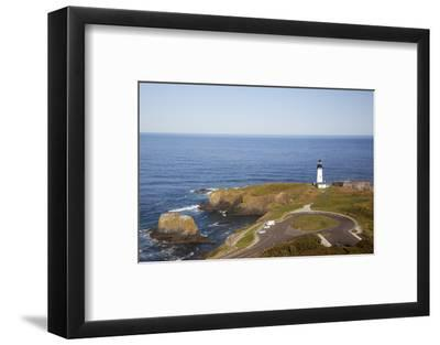 Yaquina Head Lighthouse, 1873, Newport, Oregon, USA-Jamie & Judy Wild-Framed Photographic Print