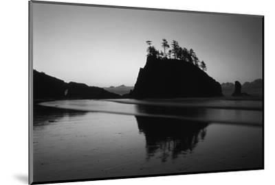 Sea Stacks, Second Beach, Olympic National Park, Washington, USA-Inger Hogstrom-Mounted Photographic Print