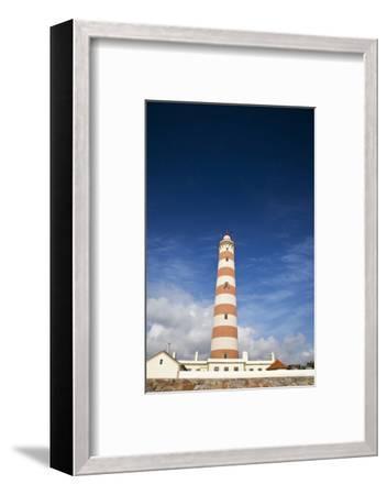 Barra Lighthouse, Costa Nova, Aveiro, Portugal-Julie Eggers-Framed Photographic Print
