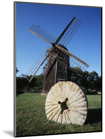 Jamestown Windmill, Conanicut Island, Rhode Island, USA-Walter Bibikow-Mounted Photographic Print