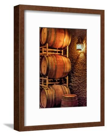 Barrel Cave, Red Mountain Ava, Eastern Yakima Valley, Washington, USA-Richard Duval-Framed Photographic Print