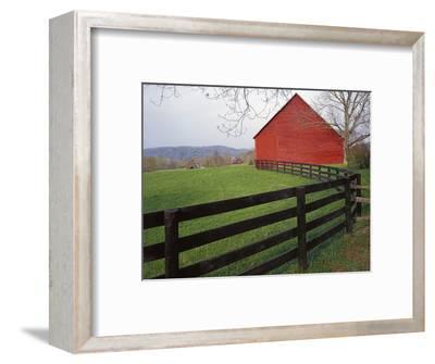 Barn Near Etlan, Virginia, USA-Charles Gurche-Framed Photographic Print