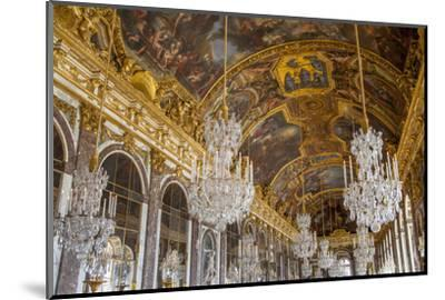 The Hall of Mirrors, Chateau de Versailles, France.-Brian Jannsen-Mounted Photographic Print