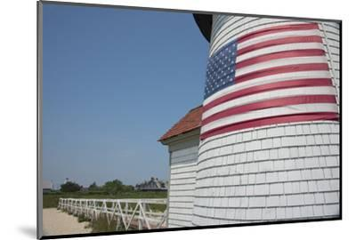 USA, Massachusetts, Nantucket. Brant Point lighthouse.-Cindy Miller Hopkins-Mounted Photographic Print