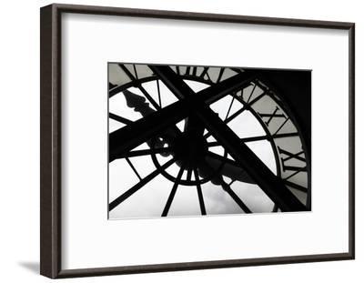 Clock at Musee D'Orsay, Paris, France-Kymri Wilt-Framed Photographic Print