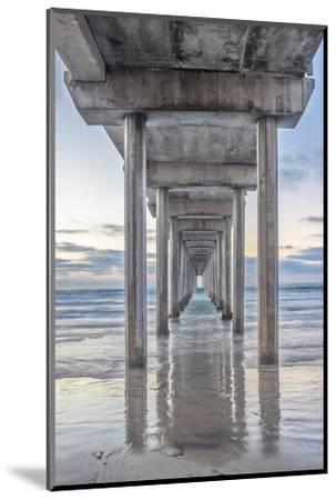 USA, California, La Jolla, Scripps Pier-Rob Tilley-Mounted Photographic Print