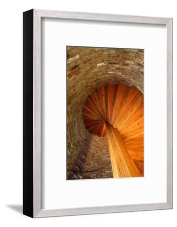 Spiral Stairs, St George Lighthouse, St George Island, Florida, USA-Joanne Wells-Framed Photographic Print