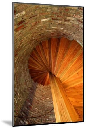 Spiral Stairs, St George Lighthouse, St George Island, Florida, USA-Joanne Wells-Mounted Photographic Print