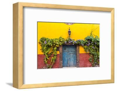Decorative Doo on the Streets of San Miguel De Allende, Mexico-Chuck Haney-Framed Photographic Print