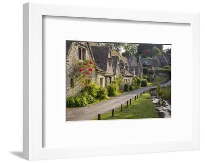 Arlington Row Homes, Bibury, Gloucestershire, England-Brian Jannsen-Framed Photographic Print