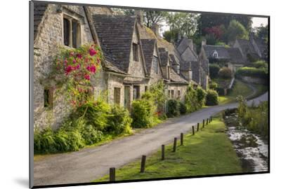 Arlington Row Homes, Bibury, Gloucestershire, England-Brian Jannsen-Mounted Photographic Print