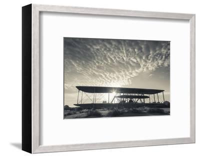 North Carolina, Kill Devil Hills, Wright Brothers National Memorial-Walter Bibikow-Framed Photographic Print