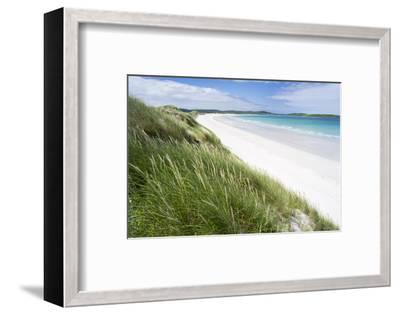 Sandy Beach with Dunes.North Uist Island, Scotland-Martin Zwick-Framed Photographic Print