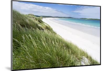 Sandy Beach with Dunes.North Uist Island, Scotland-Martin Zwick-Mounted Photographic Print
