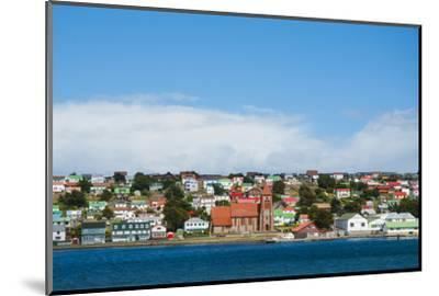Falkland Islands. Stanley. View from the Water-Inger Hogstrom-Mounted Photographic Print