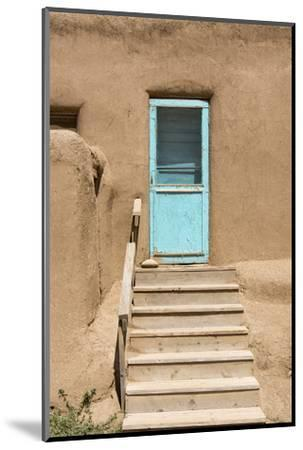 New Mexico. Taos Pueblo, Architecture Style from Pre Hispanic Americas-Luc Novovitch-Mounted Photographic Print