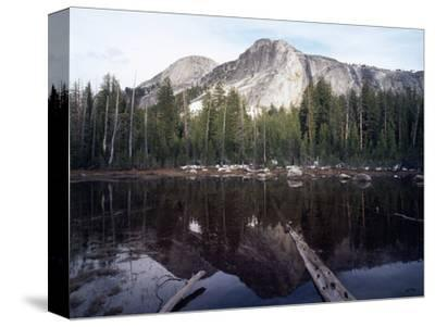 California, Sierra Nevada, Yosemite National Park, Mts Reflecting in a Tarn-Christopher Talbot Frank-Stretched Canvas Print