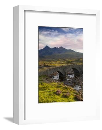 Stone Bridge over River Slichagan, Slichagan, Isle of Skye, Scotland-Brian Jannsen-Framed Photographic Print
