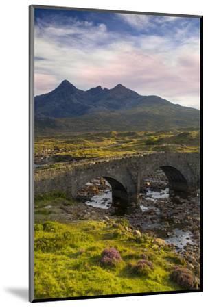 Stone Bridge over River Slichagan, Slichagan, Isle of Skye, Scotland-Brian Jannsen-Mounted Photographic Print