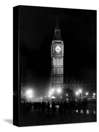 Big Ben circa 1936--Stretched Canvas Print