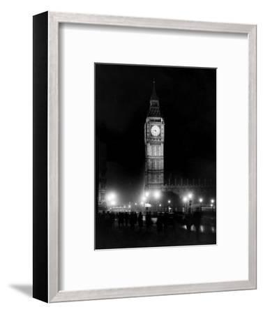 Big Ben circa 1936--Framed Photographic Print