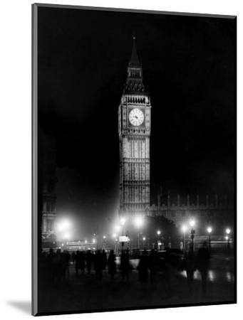 Big Ben circa 1936--Mounted Photographic Print