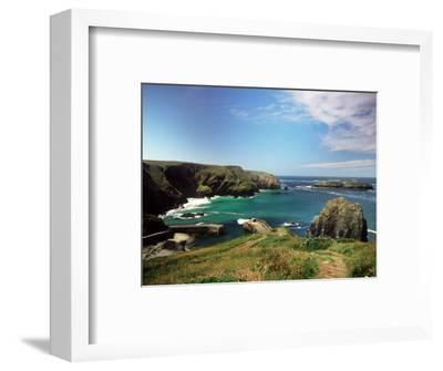 Mullion Cove in Cornwall--Framed Photographic Print
