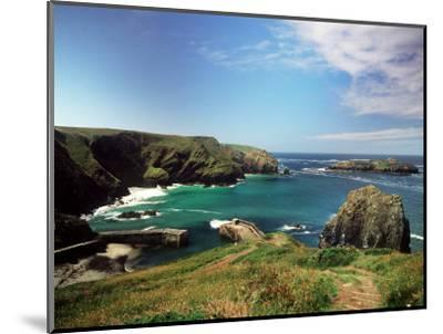 Mullion Cove in Cornwall--Mounted Photographic Print