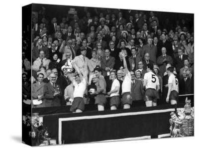 FA Cup Final at Wembley Stadium, Tottenham Hotspur vs Burnley--Stretched Canvas Print