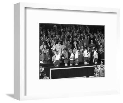 FA Cup Final at Wembley Stadium, Tottenham Hotspur vs Burnley--Framed Photographic Print