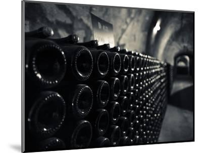 France, Marne, Champagne Ardenne, Reims, Pommery Champagne Winery, Champagne Cellars-Walter Bibikow-Mounted Photographic Print