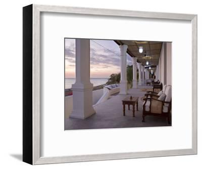 Ibo Island Lodge on Ibo Island in the Quirimbas Archipelago Near Pemba in Northern Mozambique-Julian Love-Framed Photographic Print