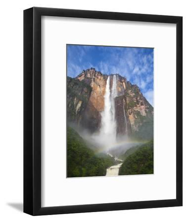 Venezuela, Guayana, Canaima National Park, View of Angel Falls from Mirador Laime-Jane Sweeney-Framed Photographic Print