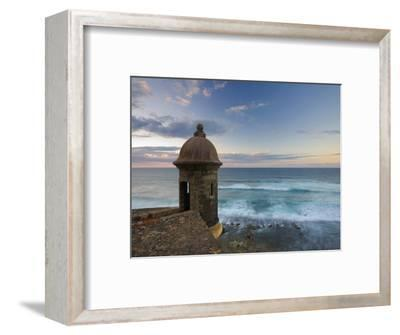 San Juan, Old Town, Fuerte San Cristobal, Puerto Rico-Michele Falzone-Framed Photographic Print