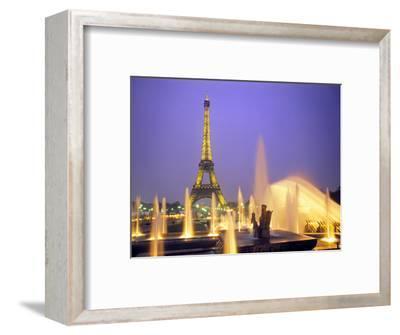 Eiffel Tower, Paris, France-Peter Adams-Framed Photographic Print