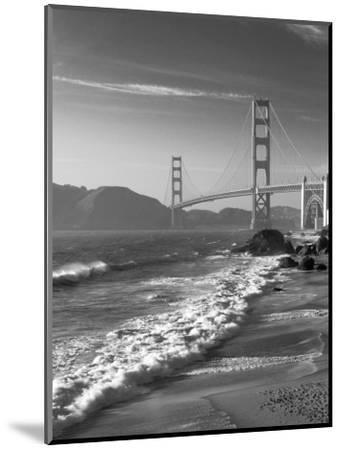 California, San Francisco, Golden Gate Bridge from Marshall Beach, USA-Alan Copson-Mounted Photographic Print