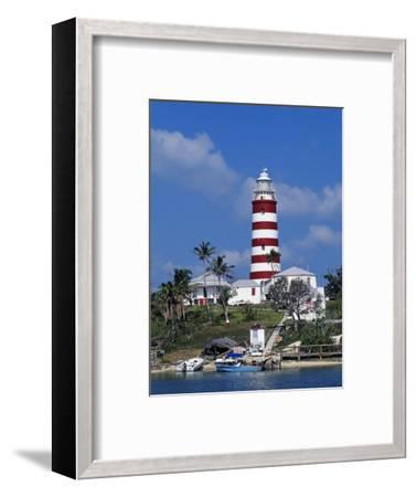 Lighthouse at Hope Town on the Island of Abaco, the Bahamas-William Gray-Framed Photographic Print