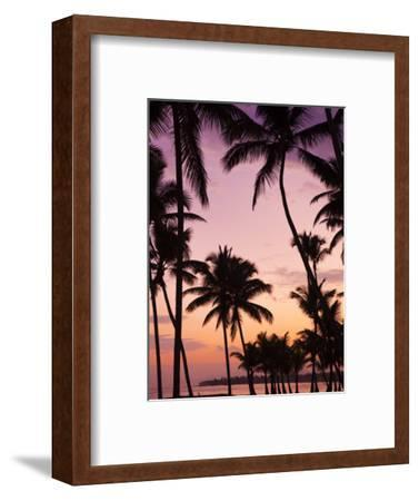 Dominican Republic, Samana Peninsula, Las Terrenas, Playa Las Terrenas Beach-Walter Bibikow-Framed Photographic Print
