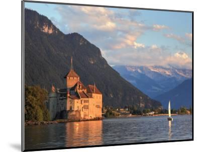 Switzerland, Vaud, Montreaux, Chateau De Chillon and Lake Geneva (Lac Leman)-Michele Falzone-Mounted Photographic Print