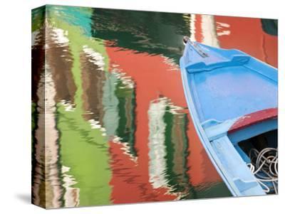 Reflections in Burano, Veneto Region, Italy-Nadia Isakova-Stretched Canvas Print