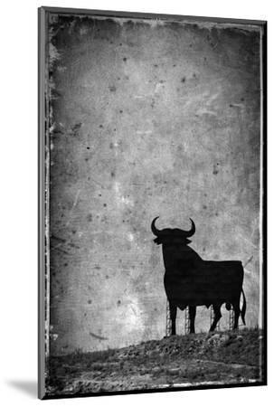 Spain, Andalucia, Jerez De la Frontera, El Cuadrejon, An Osborne Bull or Toro De Osborne-Alan Copson-Mounted Photographic Print