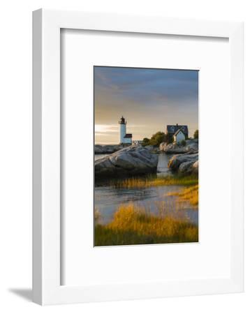 USA, Massachusetts, Gloucester, Annisquam, Annisquam Lighhouse-Walter Bibikow-Framed Photographic Print