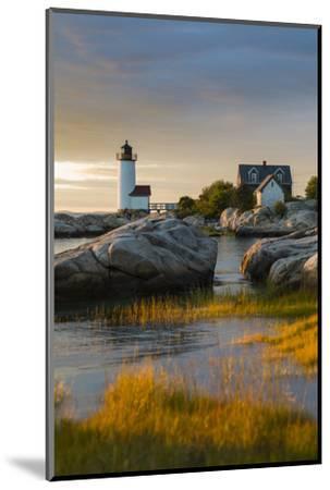 USA, Massachusetts, Gloucester, Annisquam, Annisquam Lighhouse-Walter Bibikow-Mounted Photographic Print