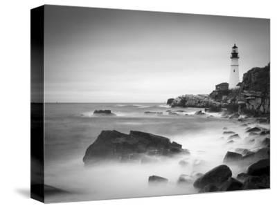 Maine, Portland, Portland Head Lighthouse, USA-Alan Copson-Stretched Canvas Print