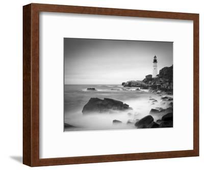Maine, Portland, Portland Head Lighthouse, USA-Alan Copson-Framed Photographic Print