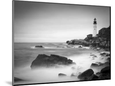 Maine, Portland, Portland Head Lighthouse, USA-Alan Copson-Mounted Photographic Print